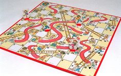 Chutes and Ladders - I still have my original game. My niece (6 years old) doesn't think it's the same thing as hers :)