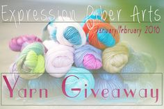 Expression Fiber Arts | A Positive Twist on Yarn – Expression Fiber Arts Free Yarn Giveaway – Jan/Feb 2016