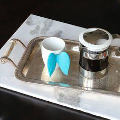 Espresso Fincanı Angel Express Mavi - #ev #mutfak #fincan #espresso #angel #melek