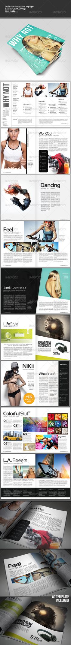 Product Promotion Catalog InDesign Template v4 Indesign - fashion design brochure template