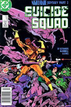 Suicide Squad, #15, Suicide Squad, Captain Boomerang, Lashina, Vixen, Nightshade, Deadshot, Bronze Tiger, Enchantress, Incubus, DC Comics