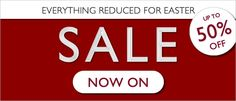 Take advantage of our big Easter Sale with everything up to 50% off! On now at http://www.pasttimes.com/