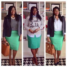 One skirt. Three ways.