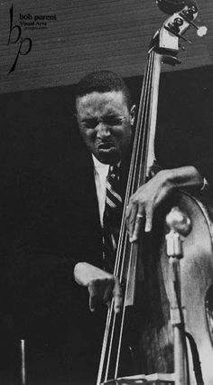 Ray Brown: At age 20 he left Pittsburgh and arrived in New York where he was introduced to Dizzy Gillespie, who was looking for a bass player. Gillespie hired Brown on the spot, and he soon played. Jazz Artists, Jazz Musicians, Music Artists, Cultures Du Monde, Jazz Blues, Blues Music, Double Bass, Pop Rock, All That Jazz