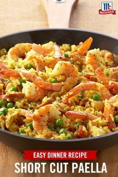 A simplified version of the classic Spanish dish, this easy paella recipe gets its rich color from turmeric, instead of saffron. Choose smoked sausage for a mild smoky flavor or chorizo to add more heat to this easy weeknight meal.