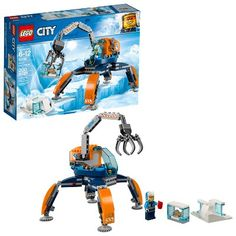 Buy LEGO City Arctic Expedition Ice Crawler Winter Toy - 60192 at Argos. Thousands of products for same day delivery or fast store collection. Pogo Stick, Lego City, Snow Vehicles, Arctic Explorers, Arctic Ice, All Lego, Lego Toys, Kids Party Supplies, Party Stores