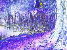 'Am Teich' von Rudolf Büttner bei artflakes.com als Poster oder Kunstdruck $18.02