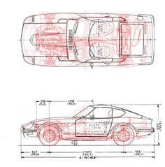 An entire Miata sub-frame and drive-train under a Technical Drawing, Print And Cut, Race Cars, Train, Drawings, Blue Prints, Projects, Nissan, Biker