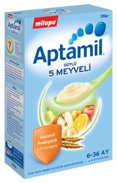 Milupa Aptamil 5 Meyveli Kaşık Maması 250gr :: Bedesten Alışveriş
