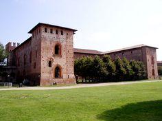 Maschio visconteo del Castello di Vigevano.