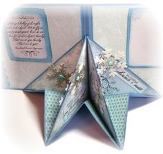 Marianne's Paper World: Star Mix. Boy Cards, Pop Up Cards, Fancy Fold Cards, Folded Cards, Scrapbook Cards, Scrapbooking, Paper Art, Paper Crafts, Up Book