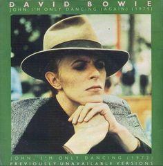 David Bowie - John, I'm Only Dancing (Again) Angela Bowie, David Bowie, Vinyl Cover, Cd Cover, Album Covers, Dandy, Duncan Jones, Jack Johnson, Men Style Tips