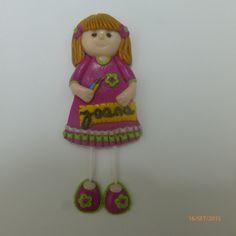Bonecas do 1069, boneca em fimo