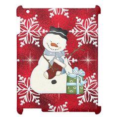 Christmas Snowman iPad 2/3/4 Savvy Glossy case Case For The iPad 2 3 4