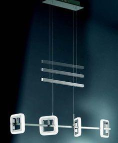 Lustr/závěsné svítidlo WOFI WO 7507.04.54.1000 (DAVIS) Lustr, plnící vyjma funkce centrálního osvětlení i funkci zajímavého interiérového doplňku #design, #consumer, #functional, #lustry, #chandelier, #chandeliers, #light, #lighting, #pendants #světlo #svítidlo #wofi #lustr