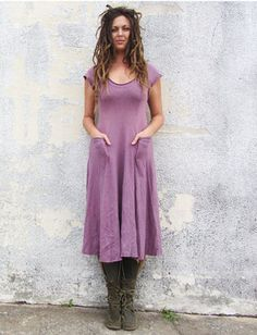 Gaia Conceptions - Perfect Pockets Below Knee Dress, $225.00 (http://www.gaiaconceptions.com/perfect-pockets-below-knee-dress/)