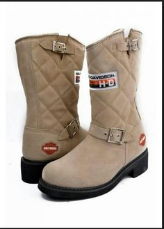 H.D Harley Davidson Shoe Boots, Shoes, Harley Davidson, Winter, Fashion, Moda, Zapatos, Shoes Outlet, Fasion