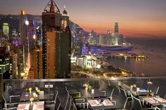 ToTT's and Roof Terrace - international cuisine, alfresco dining, live music and spectacular #views at The Excelsior, #HongKong - by #Mandarin Oriental