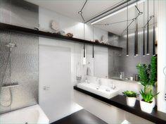 1000интерьеров | Санузлы Double Vanity, Bathroom, Washroom, Full Bath, Bath, Bathrooms, Double Sink Vanity
