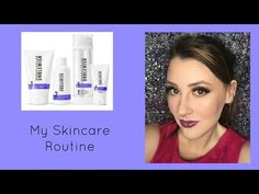 Night time skin care routine for dry and acne prone skin - YouTube