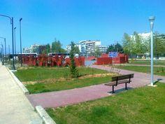 Park near my home in Drama Greece