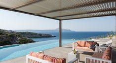 Searock Seafront Villa - Authentic Crete, Villas in Crete, Holiday Specialists Crete, Villas, Bedrooms, Patio, Outdoor Decor, Home Decor, Decoration Home, Terrace, Room Decor