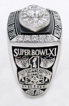 1976 Super Bowl Ring