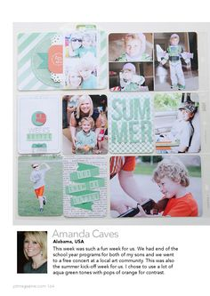 Jot Magazine. Issue 4  Paper crafting magazine for the modern day memory keeper