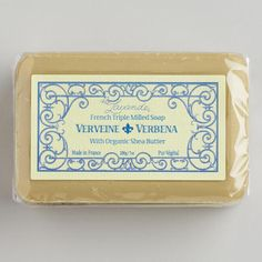 One of my favorite discoveries at WorldMarket.com: La Lavande Verbena Bar Soap
