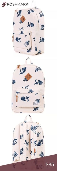 "NWT Herschel supply tropical heritage backpack Brand new with tags! The laptop sleeve can fit a 15"" laptop. $75 on merc Herschel Supply Company Bags Backpacks"
