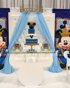 20 Tendencias De Mickey Rey Blue Para Explorar Fiesta De