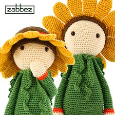 Sunflower Sam pattern by Zabbez / Bas den Braver