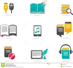 Ε-βιβλίο, Audiobook και εικονίδια λογοτεχνίας - 1 - Κατεβάστε Πάνω Από % mm%…