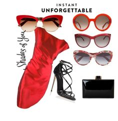 """""""Shades of You: Sunglass Hut Contest Entry"""" by bijouinedit on Polyvore featuring Dolce&Gabbana, Alexander McQueen and shadesofyou"""