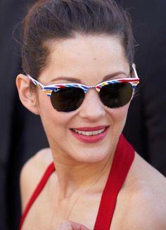 Marion est si précieux ♥ Lunettes De Soleil Élégantes, Marion Cotillard,  Actrice Française, e1b35fbc37a5