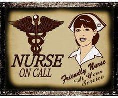 Vintage Nurse on Call