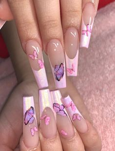 French Tip Acrylic Nails, Bling Acrylic Nails, Simple Acrylic Nails, Square Acrylic Nails, Aycrlic Nails, Best Acrylic Nails, Summer Acrylic Nails, Coffin Nails, French Nails