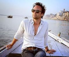 Walter Goggins ~ Justified.  Wow his shirt isn't buttoned all the way up!