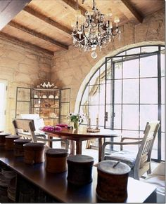 great arched window -- beautiful!