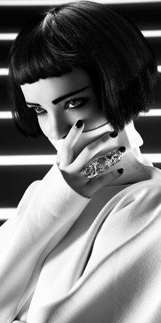 Femme fatale, Lady, Woman, Girl, Fashion, Glamour, Style, Luxury, Chic, B&W, Black & white