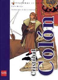 Cristobal Colón, de Carlos Reviejo. Con pictogramas. (VERDE).
