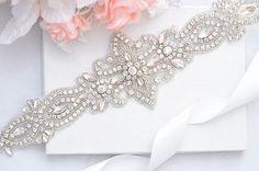 SALE crystal rhinestone Wedding Belt, Bridal Belt, Sash Belt, Crystal Rhinestones belt