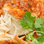 Crock Pot Cilantro Lime Chicken  Easy recipe and I keep most of these ingredients on hand..