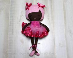 Bebé muñeca  hecha a mano muñeca de trapo Rag por SewManyPretties