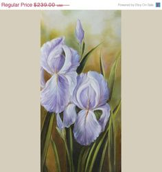 ON SALE ORIGINAL Oil Painting Morning Beauty 15 x 30 by decorpro, $203.15