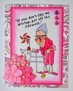 GRANNY WALKER & Dont like my DRIVING 2pc RETIRED ART IMPRESSIONS RUBBER STAMPS L@@K @EXAMPLES Sold separately are the other items used in the examples. Art Impressions. You can purchase all items in my ebay store: Pat's Rubber Stamps & Scrapbooks, Click on the picture & see the listing , or call me 423-357-4334 with order, We take PayPal. You get FREE SHIPPING ON PHONE ORDERS of $30.00 or more. If it says sold I have more. Use my search engine to find other items U R interested in