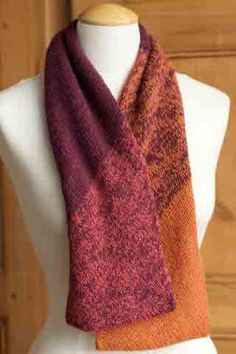 Ombré Infinity Scarf Project