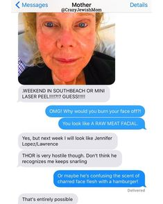 Daughter Posts Brutally Honest Texts That She Receives From Her Crazy Jewish Mother, And It's Hilarious Funny Dog Texts, Stupid Funny Memes, Hilarious Texts, Funny Stuff, Text Message Fails, Funny Text Messages, Text Fails, Humor