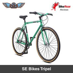 REVIEW: SE Bikes Tripel - appearance of a funky hipster fixie with the versatility of a regular geared commuter bike.   LEARN MORE: http://roa.rs/29FBMsJ.   _ #SEbikes #tripel #bicycle #commuter #bike #citybike