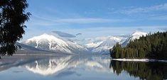 Camping in Glacier - Lake McDonald